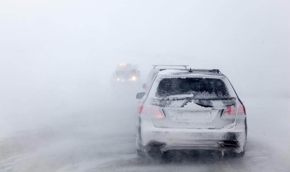 Driving to Nordkapp