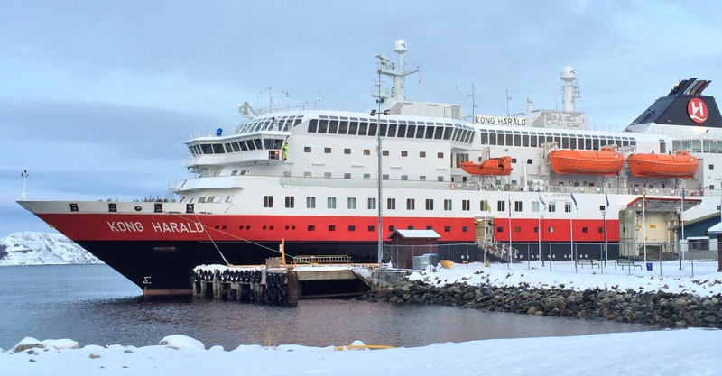 Hurtigruten in winter
