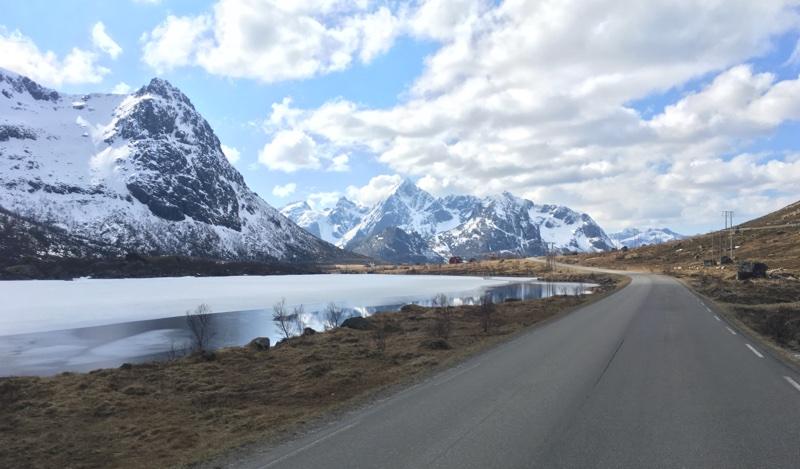 Road trip in Lofoten