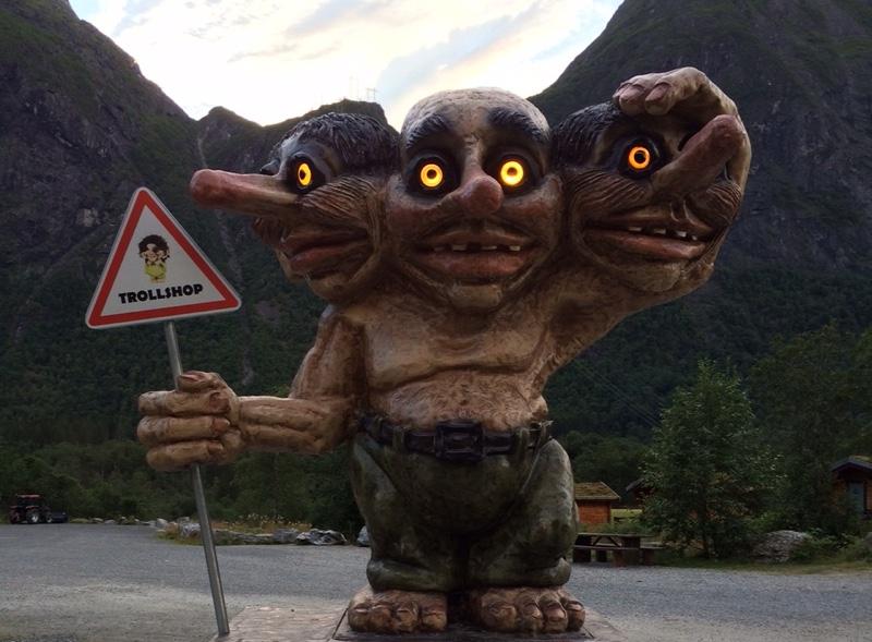 Norway trolls