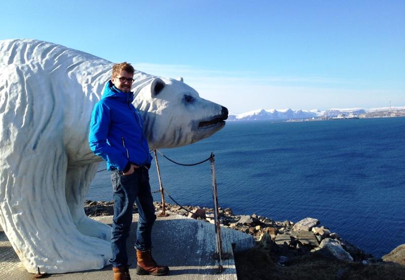Polar Bear in Hammerfest