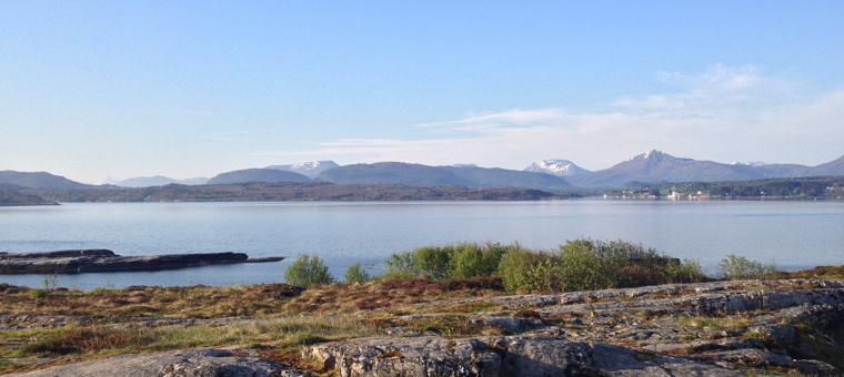 View from Sveggvika