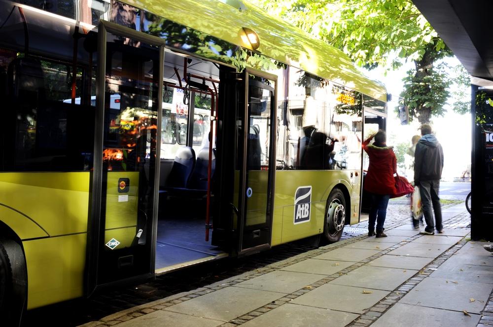Bus in Trondheim