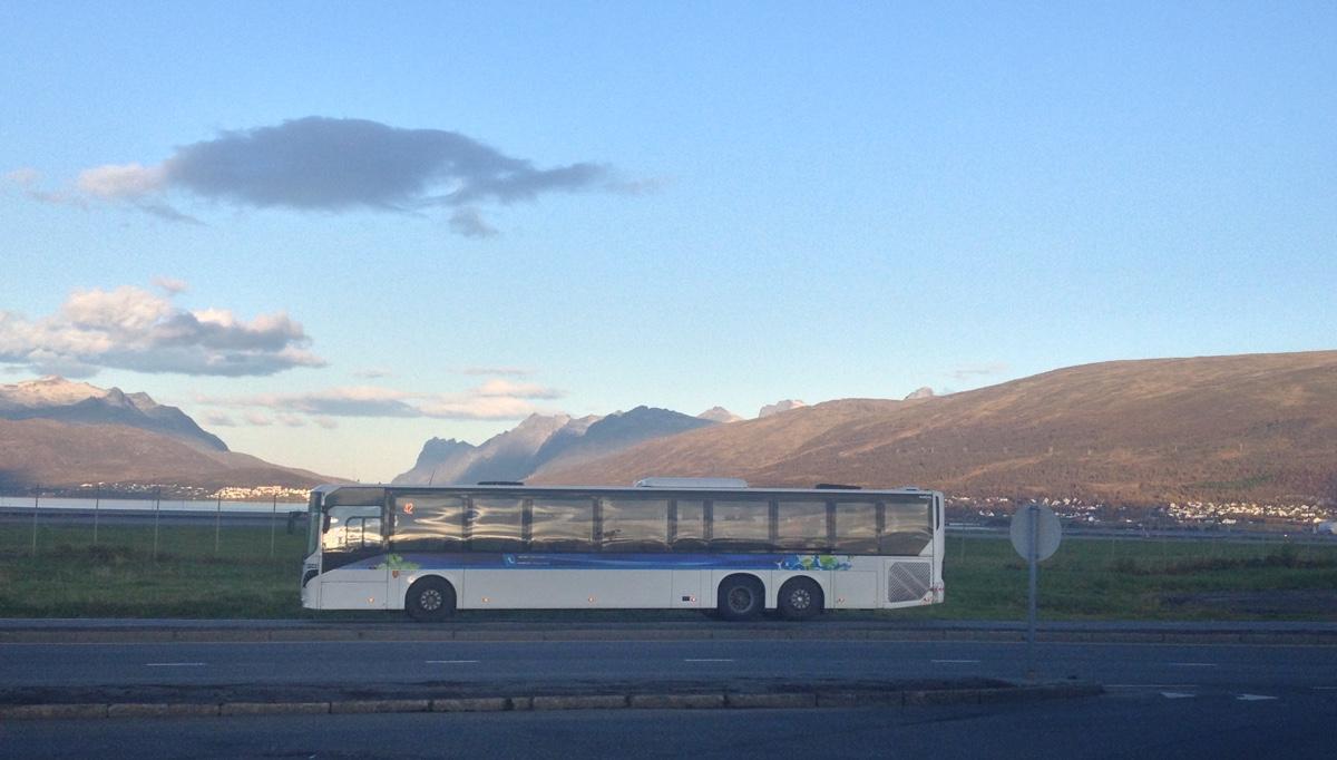 Bus travel in Tromsø