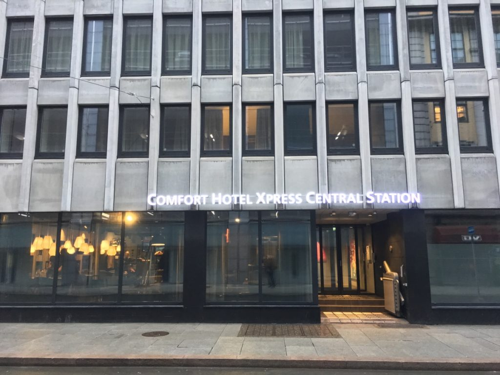 Comfort Hotel Xpress Oslo Central Station