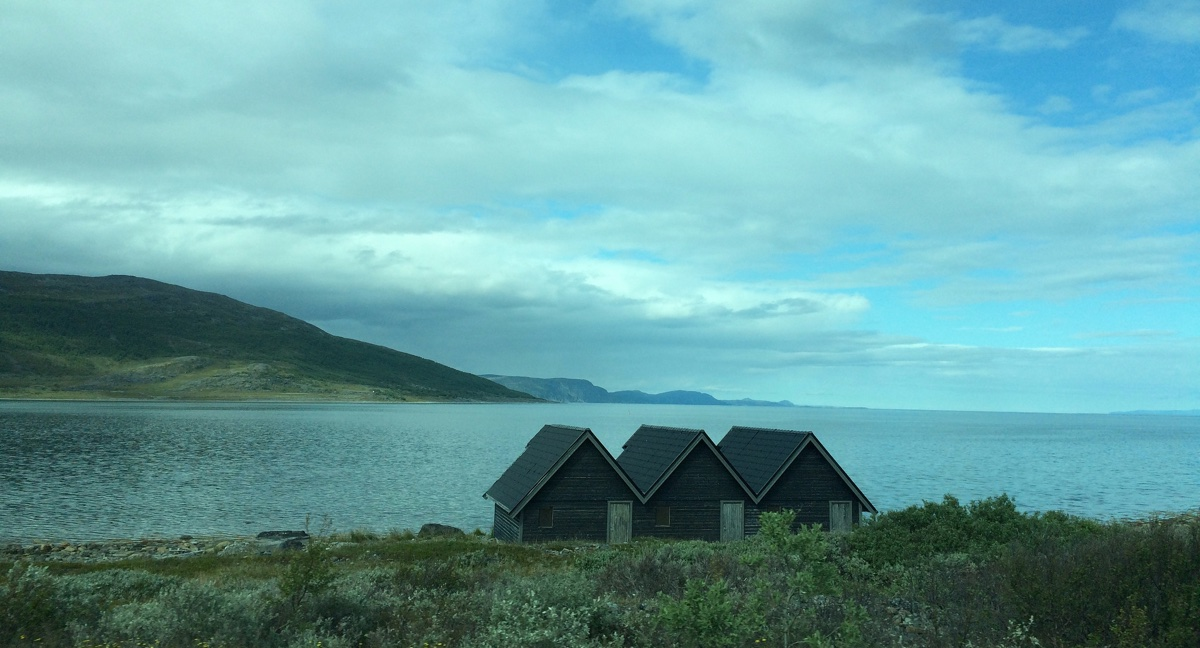 Driving through Finnmark