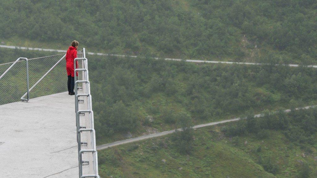 Viewpoint at Gaularfjellet