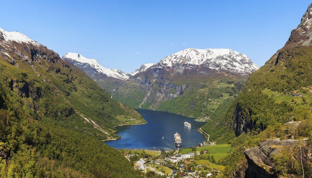 Geirangerfjord viewpoint