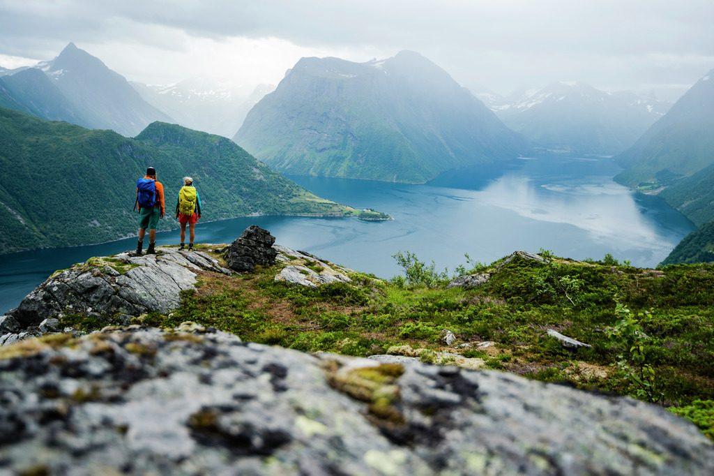 Hjørundfjord hiking