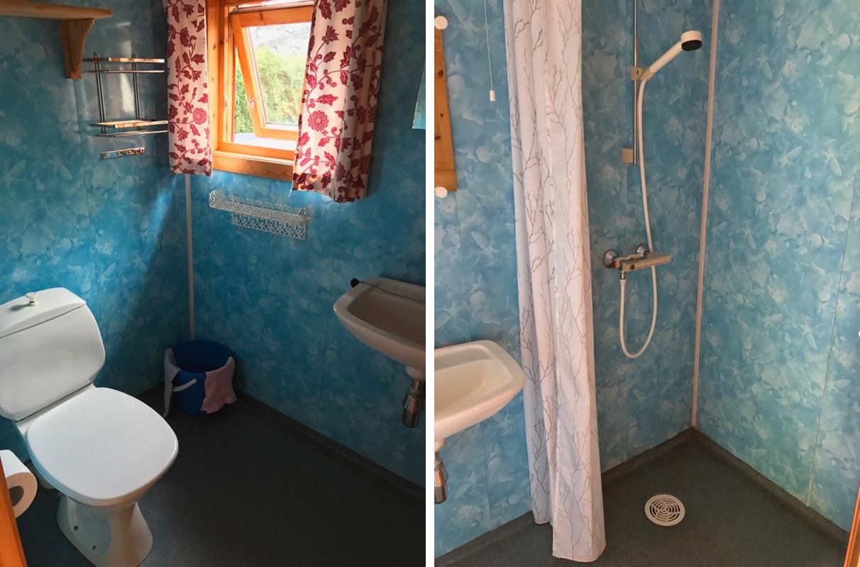 Hytte bathroom