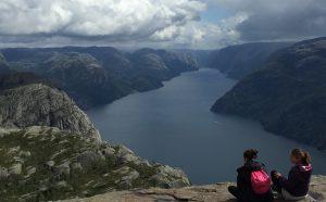 The Hike to Preikestolen