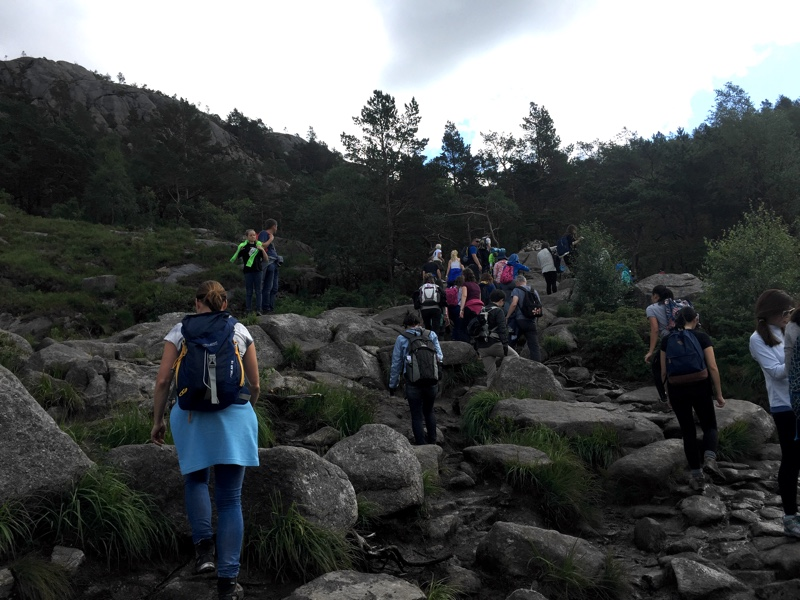 Pulpit Rock Hiking