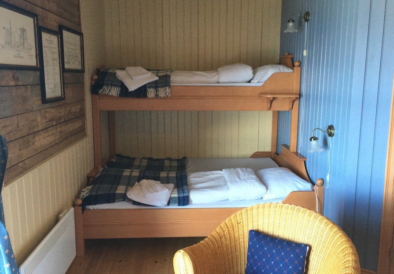 Triple room at Sandtorgholmen Hotel