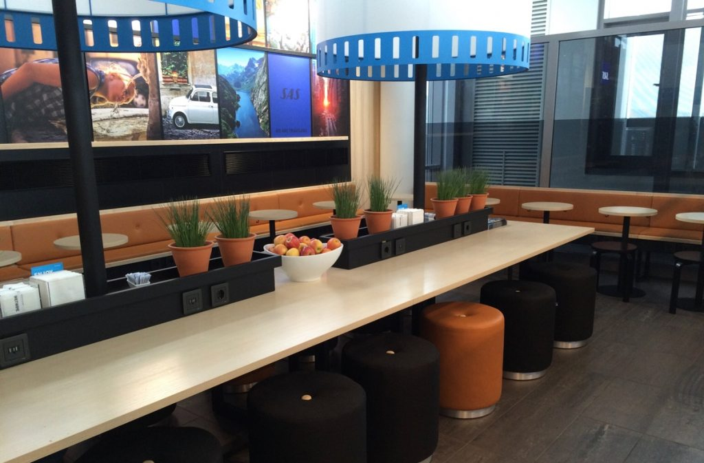 SAS Lounge Værnes