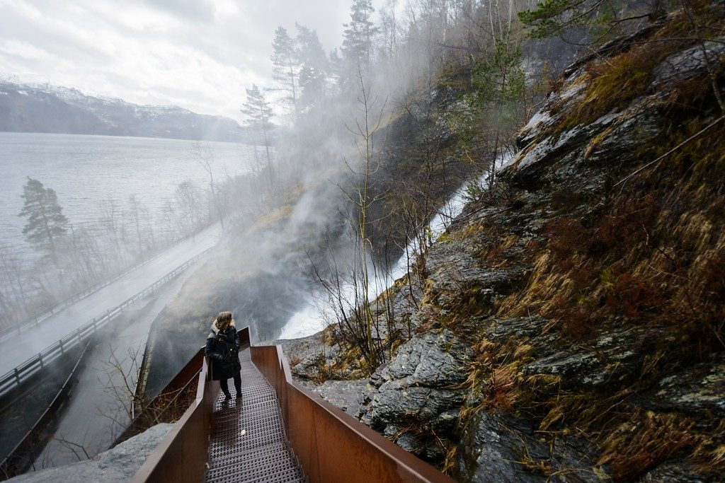 Svandalsfossen waterfall