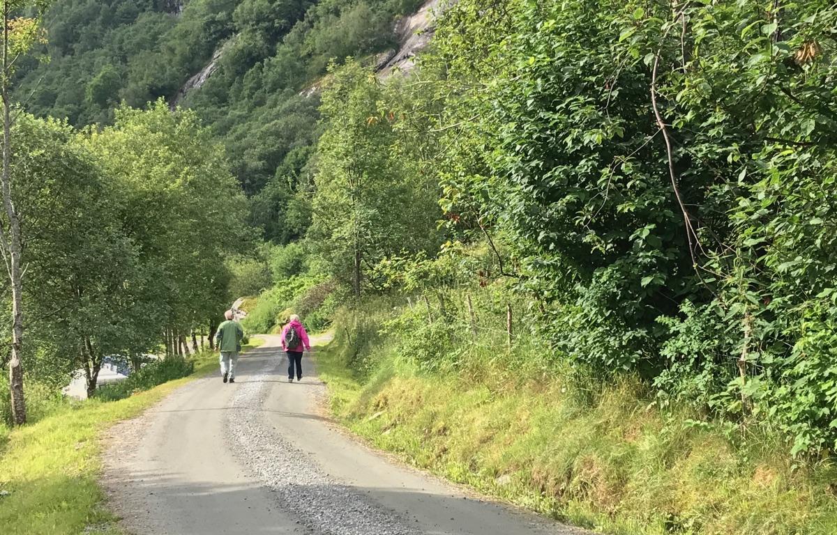 Trail to Geiranger