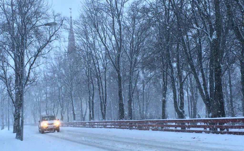 Winter Driving in Norway